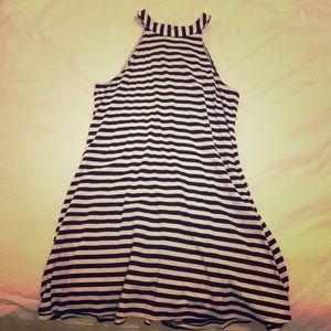 EXPRESS black & white striped dress, size XS!